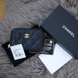 Chanel Classic Zipped Coin Purse